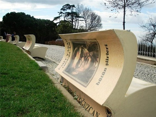 Book benches in Istanbul - picture 1