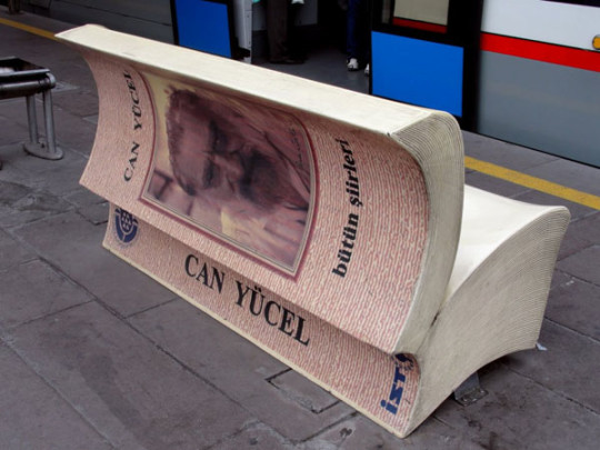 Book benches in Istanbul - picture 2