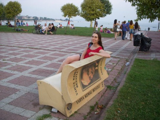 Book benches in Istanbul - picture 3