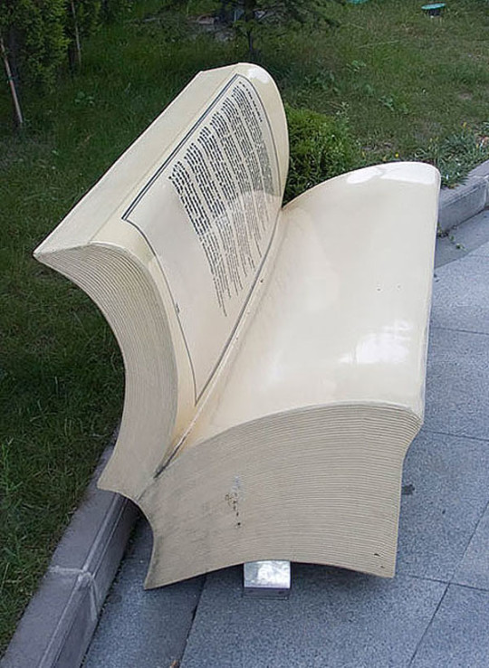 Book benches in Istanbul - picture 4