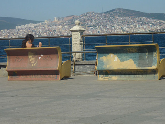 Book benches in Istanbul - picture 5