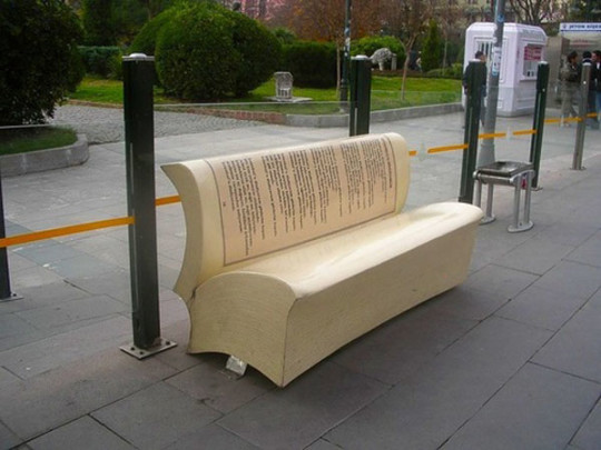 Book benches in Istanbul - picture 6