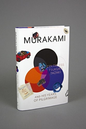 Customize Haruki Murakami novel with a pack of stickers