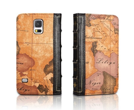 EC Technology Retro Book Case for Samsung Galaxy S5 . A popular line ...