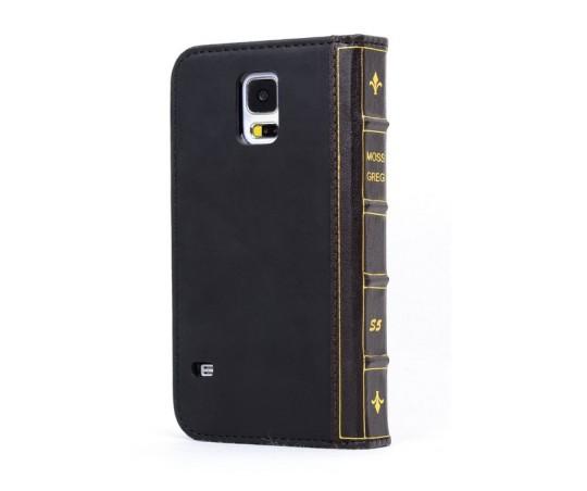 Mossgreg Classic Book Samsung Galaxy S5 Case