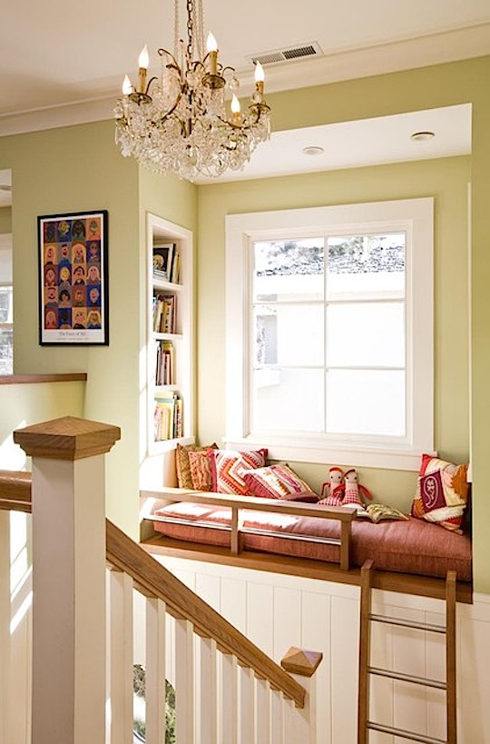 Reading nook by Ana Williamson Architect