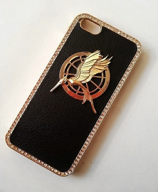 Shapotkina Mockingjay Diamond Case for iPhone 5/5S . This punk style ...