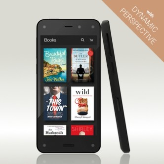 Amazon Fire Phone with Dynamic Perspective