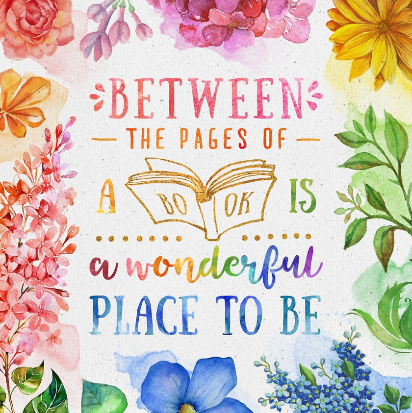 Between the pages of a book is a lovely place to be. –Anonymous #book #quote