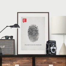 Design Different shop on Etsy offers beautiful minimalist posters with quotes from famous authors