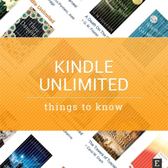 Kindle Unlimited ebook subscription - tips and tricks to know