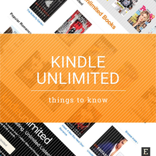 Kindle Unlimited ebook subscription - tips and things to know
