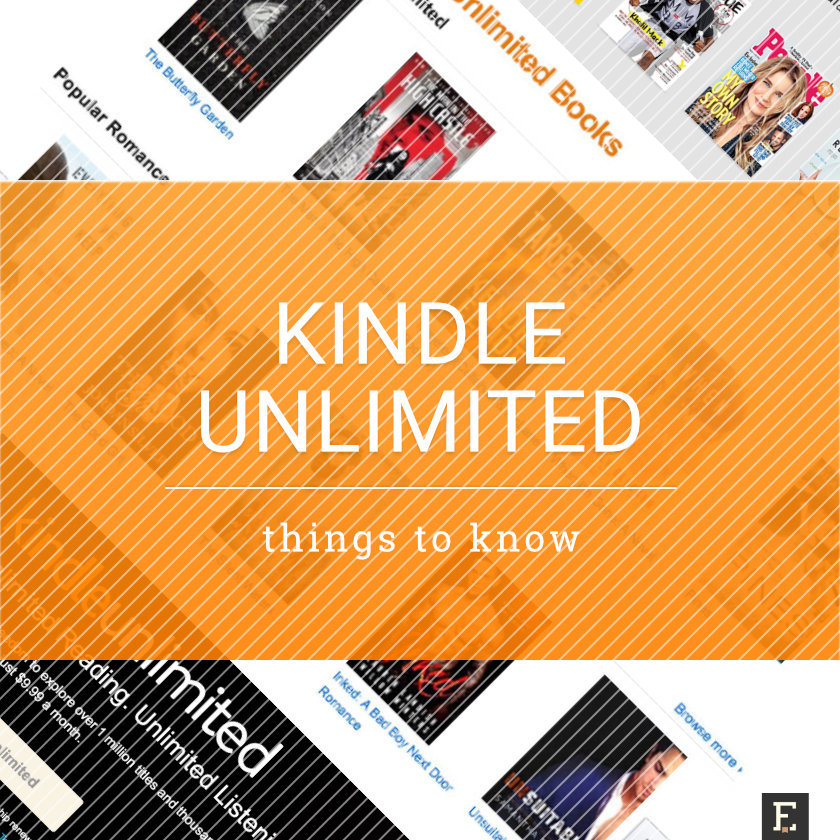 Kindle unlimited ebook subscription 12 things to know fandeluxe