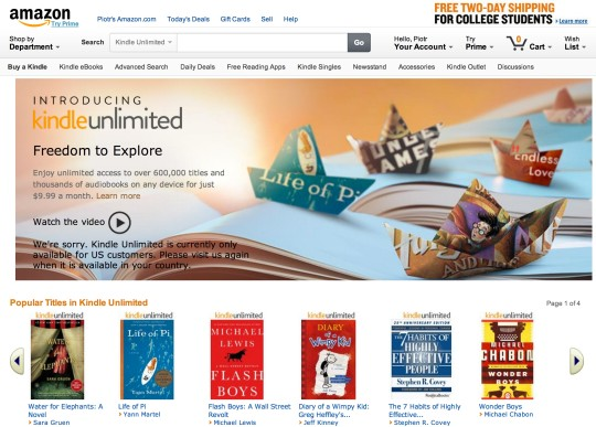 4 ways to find kindle unlimited ebooks on amazon kindle unlimited front page fandeluxe