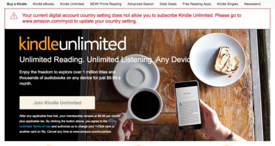 Kindle Unlimited ebook subscription – 12 things to know