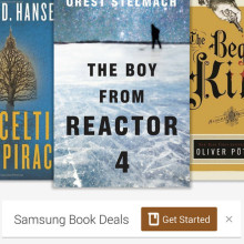 Kindle for Samsung - home page