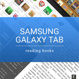 Samsung Galaxy Tab - a guide to reading books
