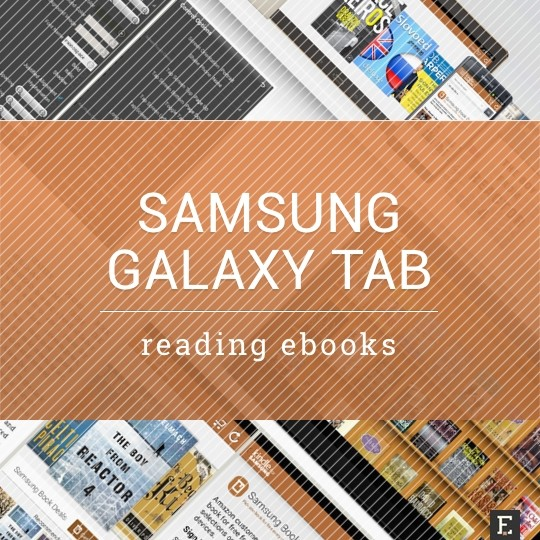 Samsung Galaxy tab - a guide to reading ebooks