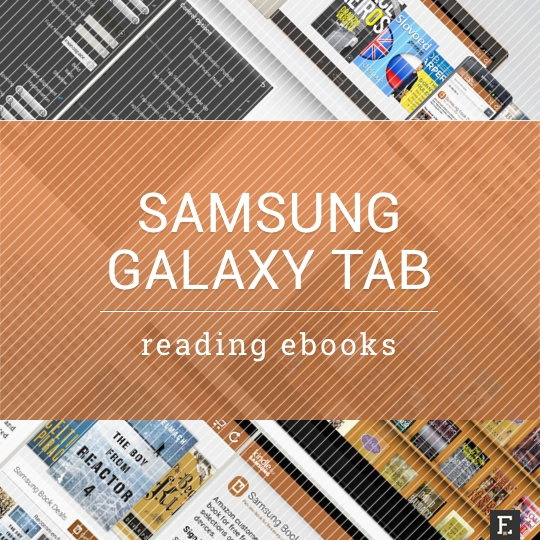 samsung galaxy tab a guide to reading ebooks
