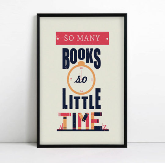 So many books. So little time. –Frank Zappa #book #quote