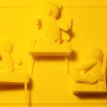 3D-printed books - Goodnight Moon 3