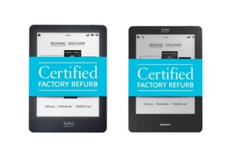 Certified refurbished Kobo Glo and Touch