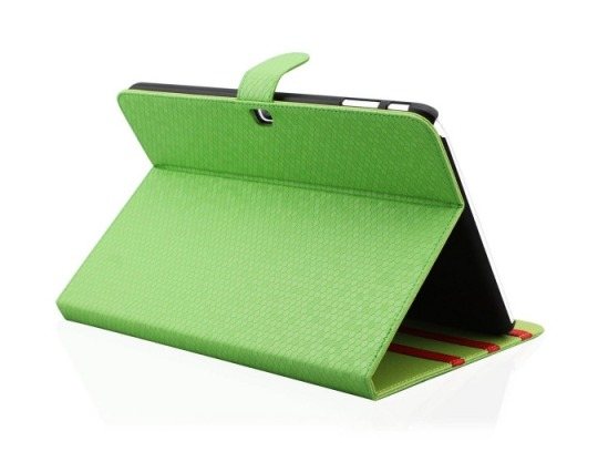 EnGive Folio Diamond Skin Case for Samsung Galaxy Tab 4