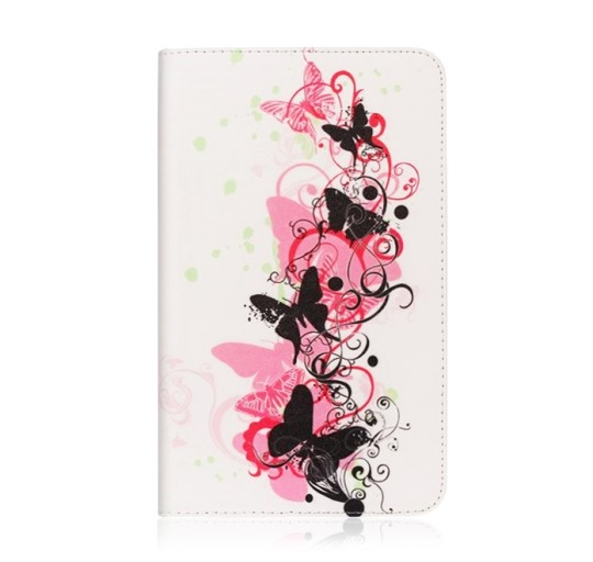 Ivy Fashion Series Flip Stand Case for Samsung Galaxy Tab 4 7.0