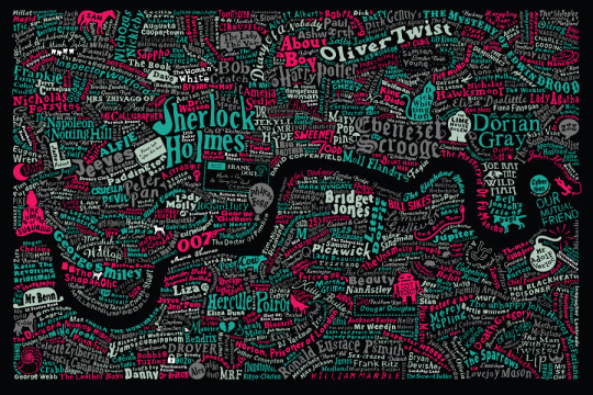 Literary maps - Literary London