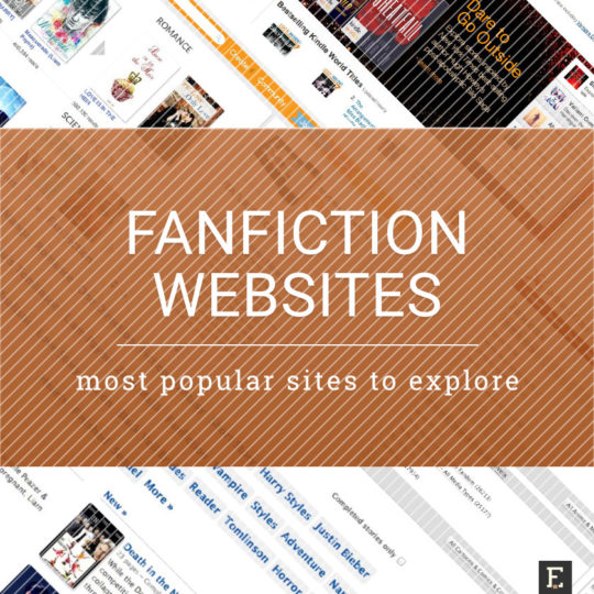 Most popular fanfiction websites to explore