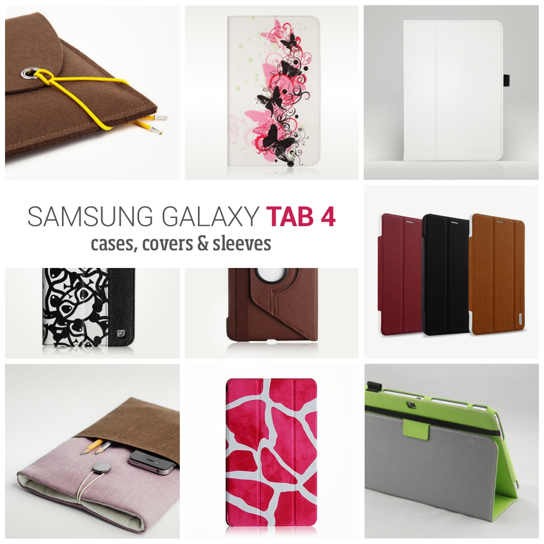 best loved 9a47a 783ba 33 best Samsung Galaxy Tab 4 case covers (7, 8, and 10.1-inch)