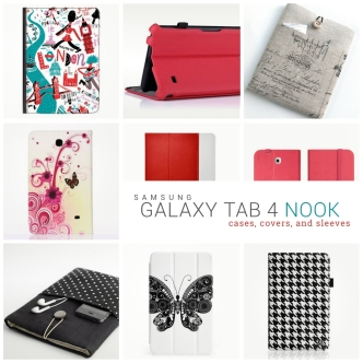 Samsung Galaxy Tab 4 Nook cases and covers
