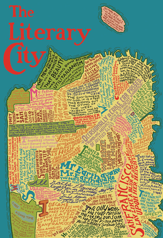 San Francisco - the literary city
