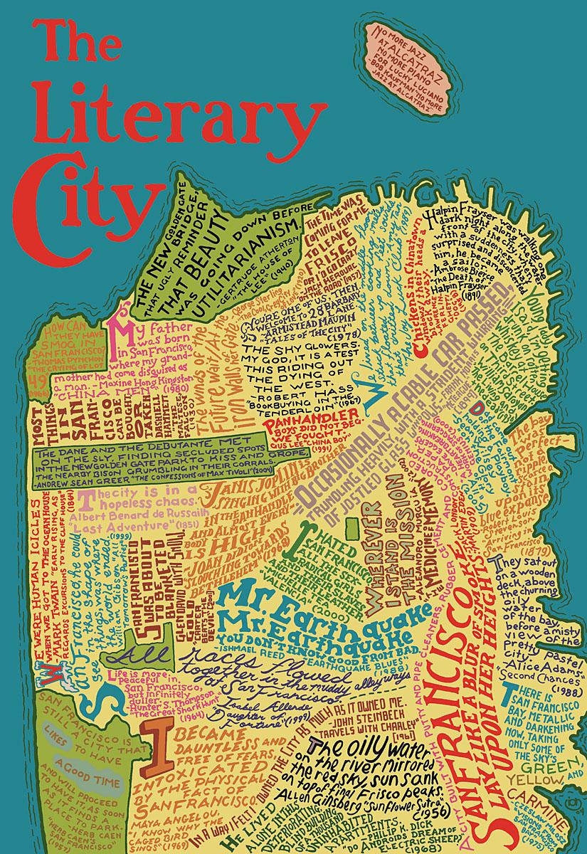 San Francisco - the literary city