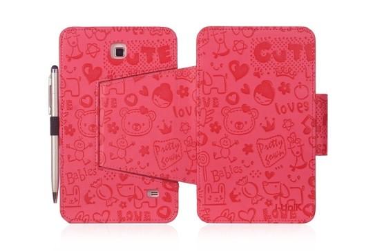 i-UniK Samsung Galaxy Tab 4 Slim Folio Case Cover