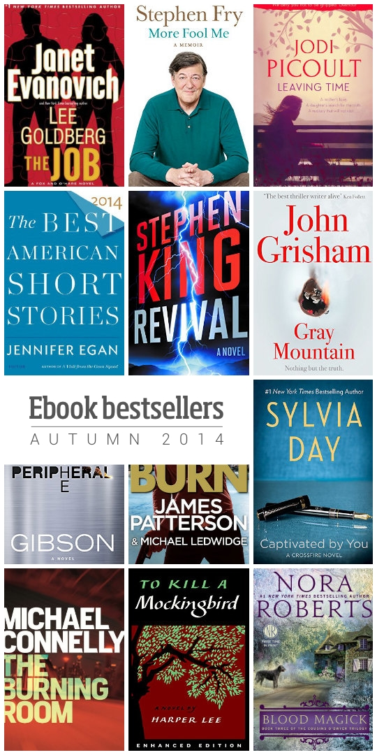 12 sure-fire #ebook #bestsellers - autumn 2014