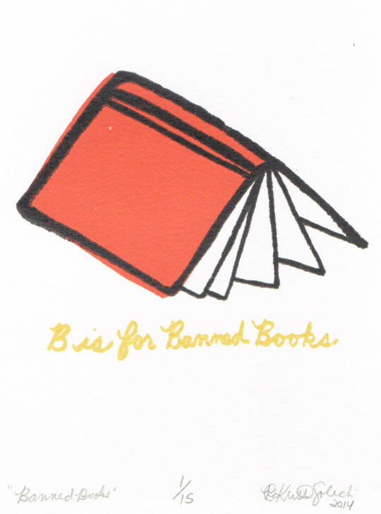 B is for Banned Books