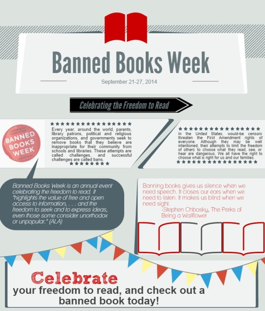 Banned Books Week #infographic