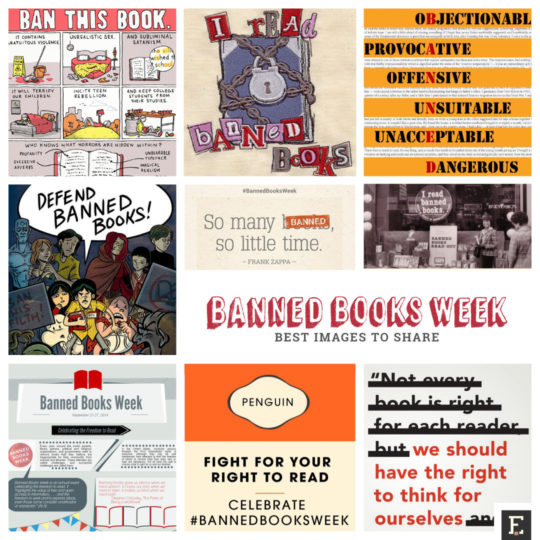 Best images to share during Banned Books Week