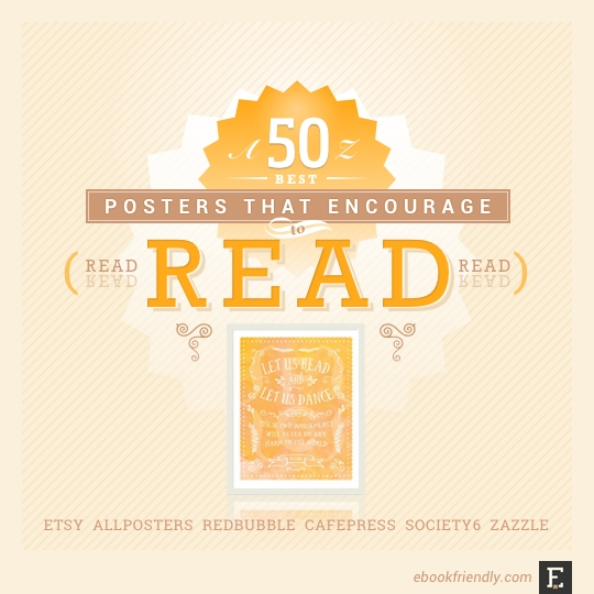 50 most awesome posters  that encourage to read