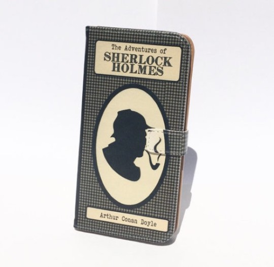 Chic-Lit Designs Sherlock Holmes iPhone Case