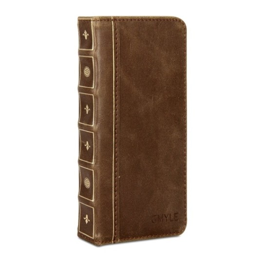 Gmyle iPhone 6 Vintage Book Case - front