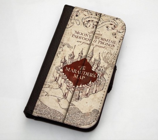 Harry Potter Marauder Map iPhone 5 Case