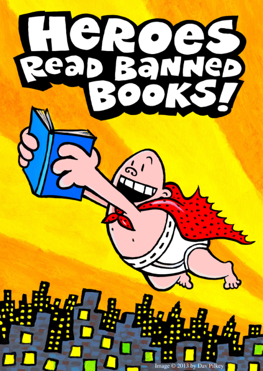 Heroes read banned books