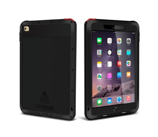 Military Grade Waterproof Case for iPad Air and iPad Mini