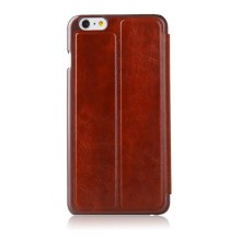 Mosiso Classic Retro Book for iPhone 6 - Red version back