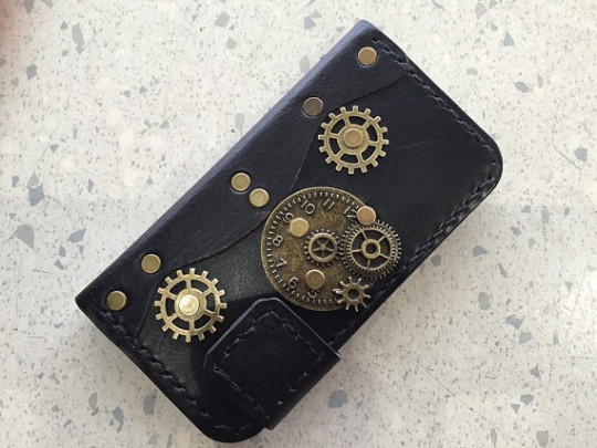 Papyrus Crafts Victorian Steampunk Case for iPhone 6