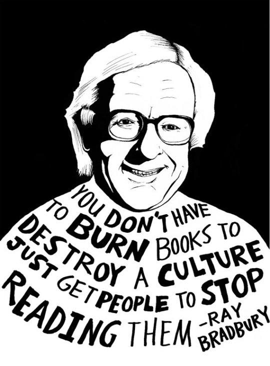 Ray Bradbury quote by Ryan Sheffield