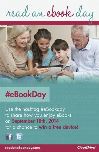 Happy Read an Ebook Day 2014! #ebookday