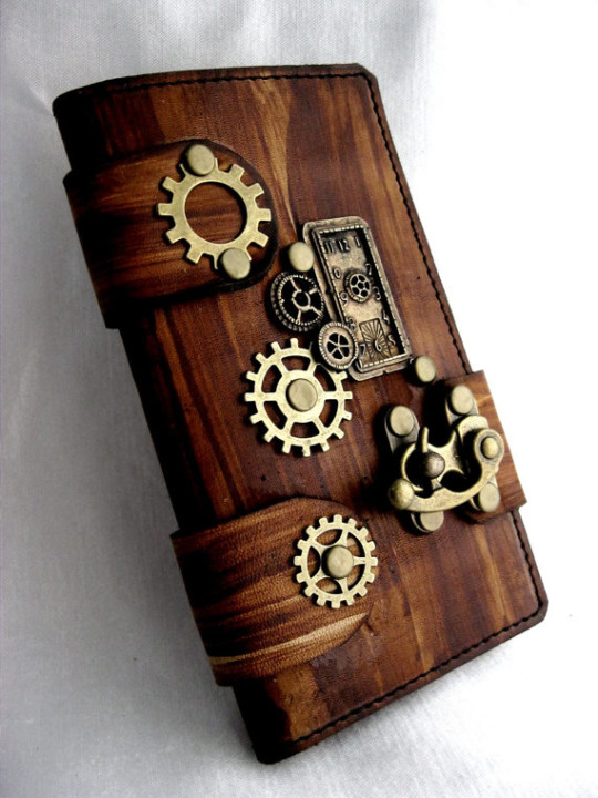 Totems Crafts Rustic Book-style iPhone 6 Cover